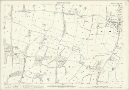 Sussex XXV.13 (includes: Cowfold; West Grinstead) - 25 Inch Map