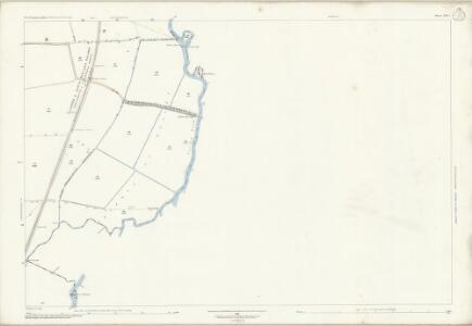 Northamptonshire XIII.7 (includes: Elton; Fotheringhay; Nassington) - 25 Inch Map