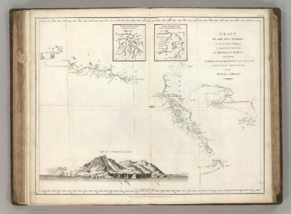 Chart of the Discoveries to the North of Japan, in 1643.