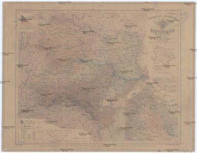 Handkarte des Erzherzogthumes Oesterreich Unter der Enns