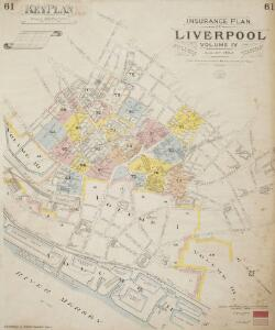 Insurance Plan of the City of Liverpool Vol. IV: Key Plan