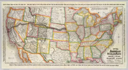 New map of the American Overland Route.
