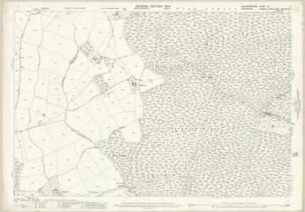 Worcestershire VII.11 (includes: Kinlet; Upper Arley) - 25 Inch Map