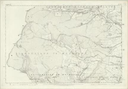 Denbighshire XLI - OS Six-Inch Map