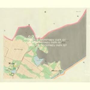 Mlaka - c4751-1-002 - Kaiserpflichtexemplar der Landkarten des stabilen Katasters