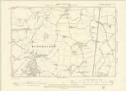 Berkshire XXXVII.SW - OS Six-Inch Map