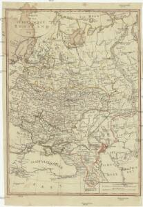 Charte von dem Europaischen Russland