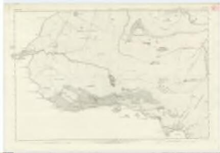 Inverness-shire (Mainland), Sheet LXII - OS 6 Inch map