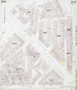 Insurance Plan of London North District Vol. D: sheet 14