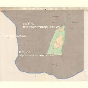 Lomna (Lomno) - m0508-1-021 - Kaiserpflichtexemplar der Landkarten des stabilen Katasters