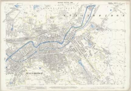 Cheshire III.10 (includes: Ashton under Lyne; Dukinfield; Stalybridge) - 25 Inch Map