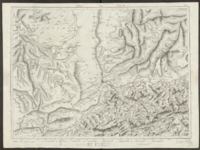 Le Canton de Basle, et parties des cantons d'Argauvie et Soleure du Frikthal et frontières
