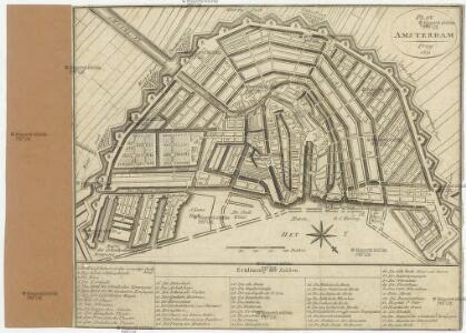 Plan von Amsterdam.