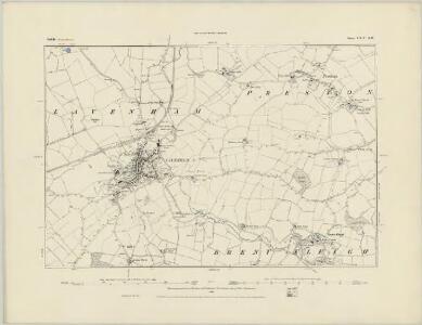 Suffolk LXIII.NE - OS Six-Inch Map