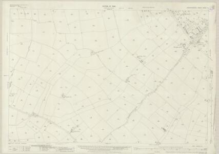 Leicestershire XXXVII.12 (includes: Glen Magna; Oadby; Wigston Magna; Wistow) - 25 Inch Map
