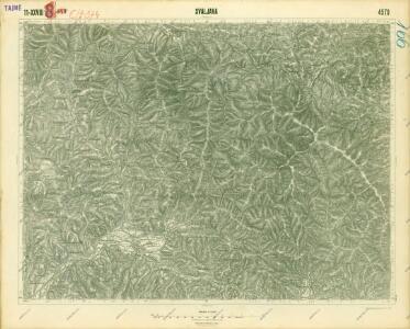 III. vojenské mapování 4570