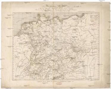 Germania magna ausser der Cimbrischen Halbinsel