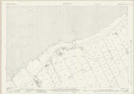 Cumberland XIV.7 (includes: Bowness) - 25 Inch Map