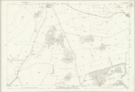 Dorset XXXI.1 (includes: Cerne Abbas; Sydling St Nicholas; Up Cerne) - 25 Inch Map