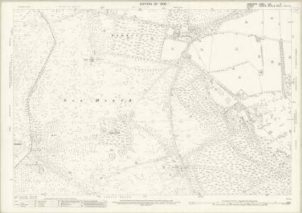 Hampshire and Isle of Wight LXX.2 (includes: Harbridge and Ibsley; Verwood) - 25 Inch Map