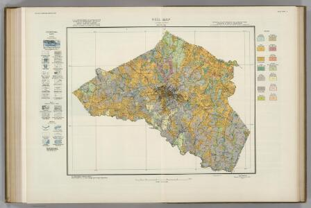 Clarke County, Georgia, Soils.  Atlas of American Agriculture.