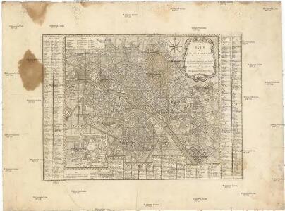 Nouveau plan de Paris et de ses faubourgs