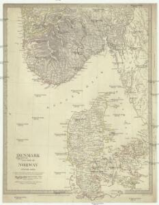 Denmark and part of Norway (Denmark, Norge)