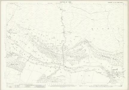 Yorkshire XCVIII.2 (includes: Buckden) - 25 Inch Map