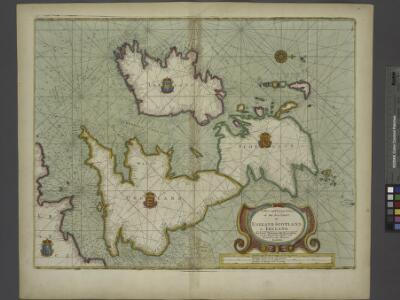 A new and correct chart of the sea coast of ENGLAND, SCOTLAND and IRELAND