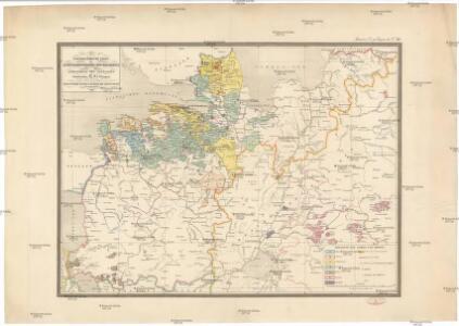 Etnographische Karte des St. Petersburgischen Gouvernements