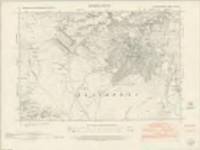 Caernarvonshire XII.SW - OS Six-Inch Map