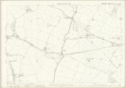 Staffordshire LV.15 (includes: Albrighton; Boningale; Codsall; Wrottesley) - 25 Inch Map