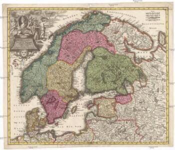 Synopsis plagae septentrionalis, sive Sueciae Daniae et Norwegiae regn. accuratissime delineatum