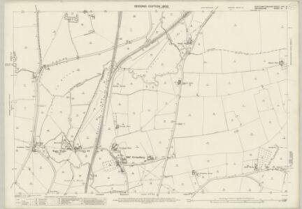 Northamptonshire LVIII.5 (includes: Banbury; Chalcombe; Hanwell; Middleton Cheney) - 25 Inch Map