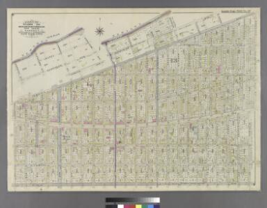 Part of Ward 26. Land Map Sections, Nos. 12 & 13. Volume 1, Brooklyn Borough, New York City.