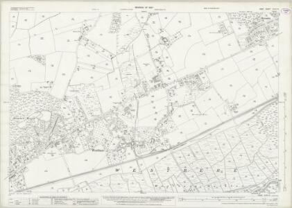 Kent XXXVI.9 (includes: Sturry; Westbere) - 25 Inch Map