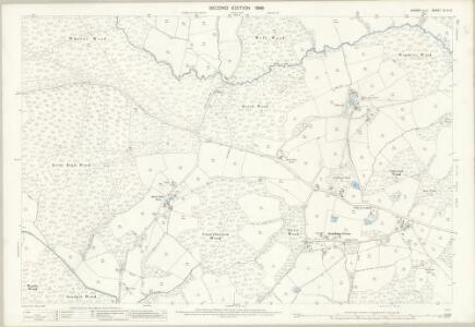 Sussex XLIV.6 (includes: Brede; Ewhurst; Sedlescombe) - 25 Inch Map