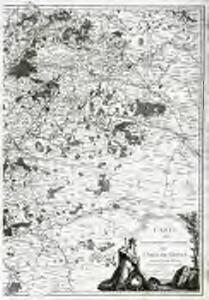 Carte du gouvernement général de l'Isle de France, 2