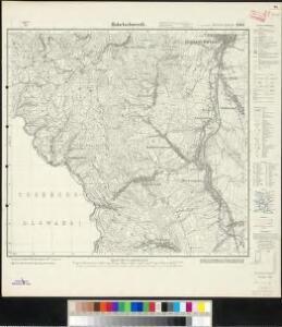 Meßtischblatt 3340 : Habelschwerdt, 1919