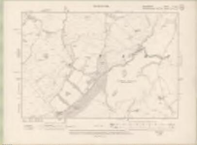 Peebles-shire Sheet VI.NE - OS 6 Inch map