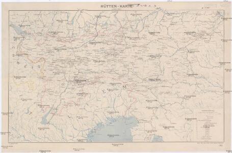 Hütten-Karte