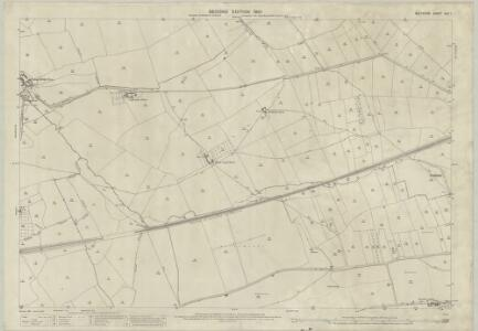 Wiltshire XLV.1 (includes: Bratton; Edington; Heywood; West Ashton; Westbury) - 25 Inch Map
