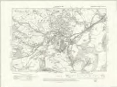 Denbighshire XXXV.SW - OS Six-Inch Map