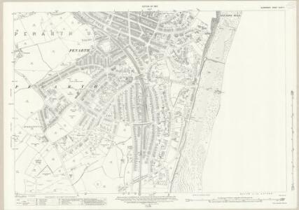 Glamorgan XLVII.11 (includes: Cardiff; Penarth) - 25 Inch Map