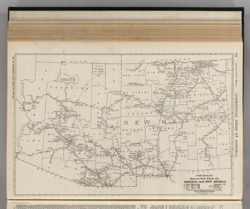 Arizona and New Mexico.