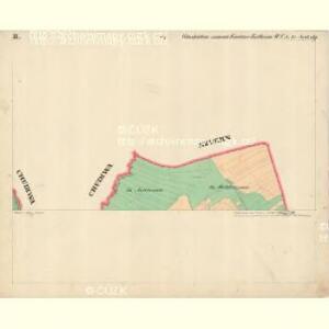 Glashütten - c6929-1-002 - Kaiserpflichtexemplar der Landkarten des stabilen Katasters