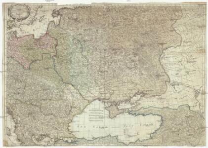 Theatre de la guerre actuelle, comprenant la Prusse, la Pologne, une grande partie de la Russie & de la Turque Européenne et Asiatique jusqu'á la mer Caspienne