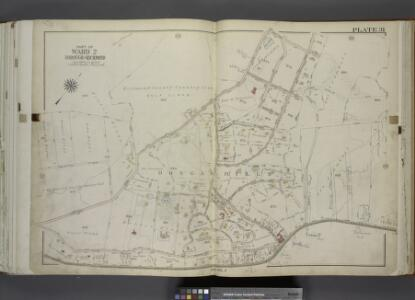 Part of Ward 2. [Map bound by Todt Hill Road, New     York Ave, Benedict Ave (Atlantic Ave), Corners Road, Richmond Road, Flagg Place  (Prospect Ave)]