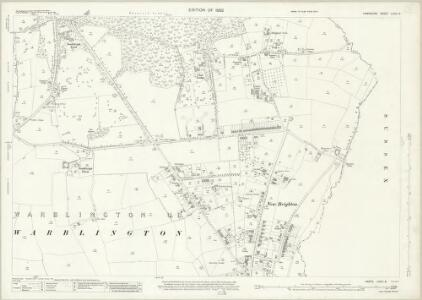 Hampshire and Isle of Wight LXXVI.8 (includes: Havant; Rowlands Castle; Westbourne) - 25 Inch Map