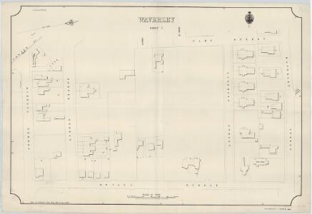 Waverley, Sheet 7, 1889
